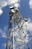 Top of antenna — Stock Photo