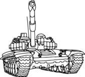 Tank — Stock Vector