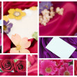 Valentine or Mother&#039;s Day collage - Stock Photo