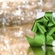 Present with green ribbon — Stock Photo #2629812