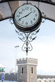 Station clock — Stock Photo