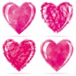 Royalty-Free Stock Imagen vectorial: Set of Hearts