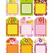 Easter set of Tag, Label. - Stock Vector