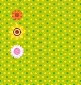 イースターのシームレスな緑の背景 — ストックベクタ