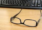 Still glasses in office — Stock Photo