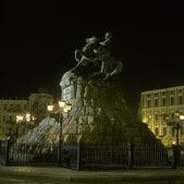 Khmelnitsky Statue in Kiew, ukraine — Stockfoto