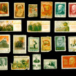 Postage stamps - my collection. Lenin — Stock Photo