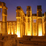 Egypt Luxor Temple — Stock Photo