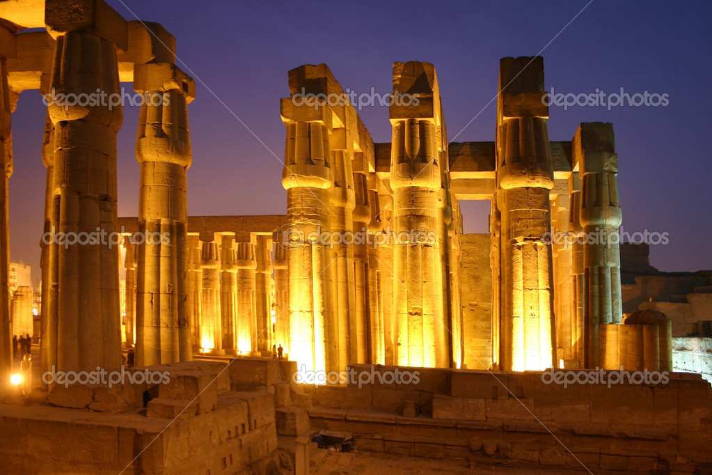 Egypt Luxor Temple   Stock Photo #2300842