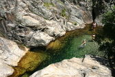 Frankreich Languedoc Gorges Colombieres — Stock Photo
