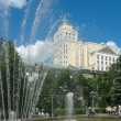 Voronezh. Fountain in Kolcovsky square. — Stock Photo #2548380