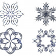 Royalty-Free Stock Photo: Magic snowflakes.