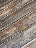 Wall of old wooden house. — Stock Photo