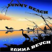 Sunny Beach in Bulgarian — Stock Vector