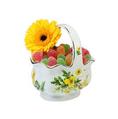 The vase with candies — Stock Photo