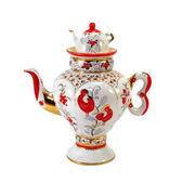 Porcelain teapot — Stock Photo
