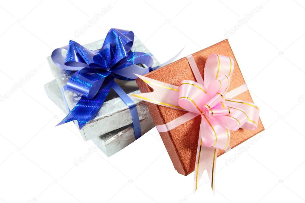 Wrapped presents — Stock Photo #2623604