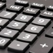 Keyboard of calculator close-up - Stock Photo