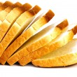 Loafs of bread isolated — Stock Photo