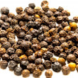 Stock Photo: Black pepper balls close up