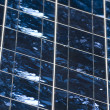 Stock Photo: Photovoltaic cells detail