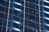 Detalhe de células fotovoltaicas — Foto Stock