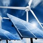 Clean energy powerplant — Stock Photo