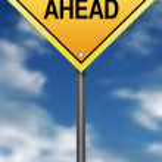 Bullying Ahead Road Sign — Stock Photo