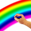 Royalty-Free Stock Photo: Rainbow