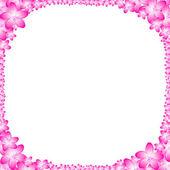 花のフレーム — ストック写真