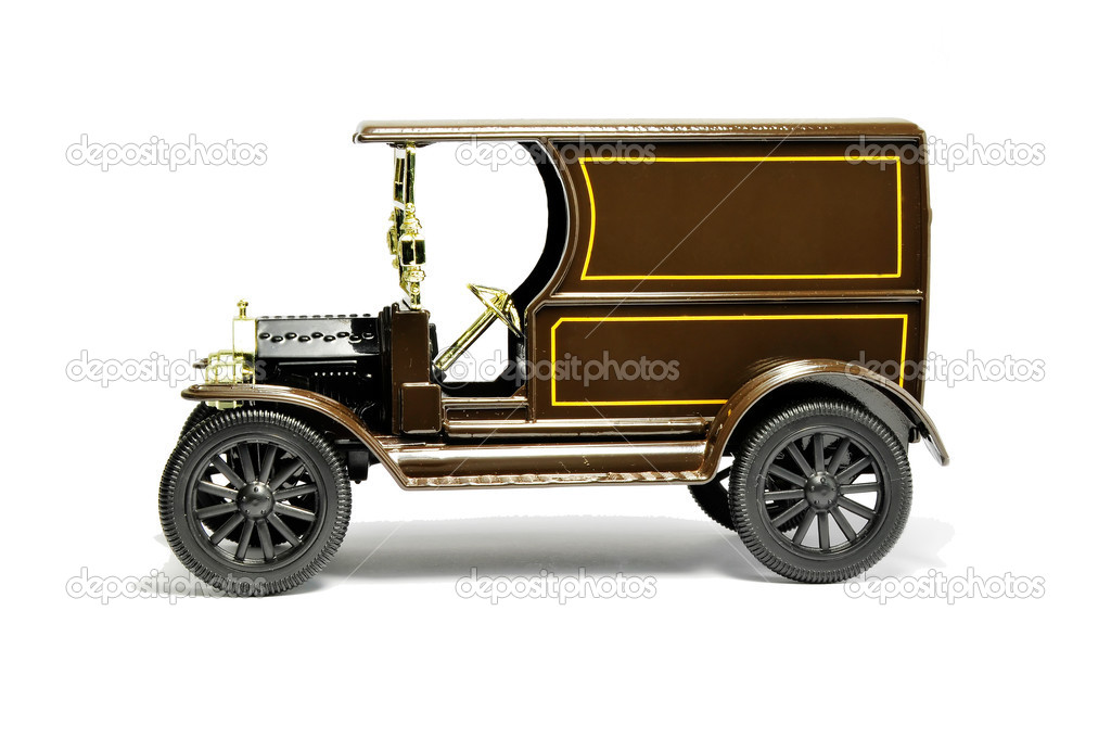 Picture of Antique Car model with white background. — Stock Photo #2375879