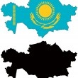 Stock Vector: Kazakhstan