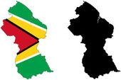 Guyana — Stock Vector