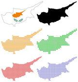 Cyprus — Stock Vector