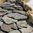 Stock Photo: Rock road