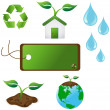 Stock Vector: Eco Icons