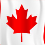 канадский флаг — Cтоковый вектор #2418114