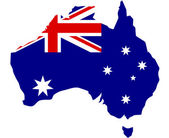 Australia — Stock Vector