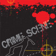 Crime Scene Evidence - Foto Stock