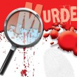 Abstract Murder - Stock Photo
