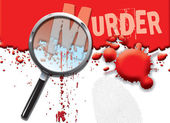 Abstract Murder — Stock Photo