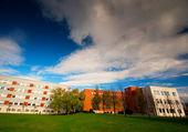 Modern university in Spain — Stock Photo