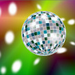 Disko ball - Stock Photo