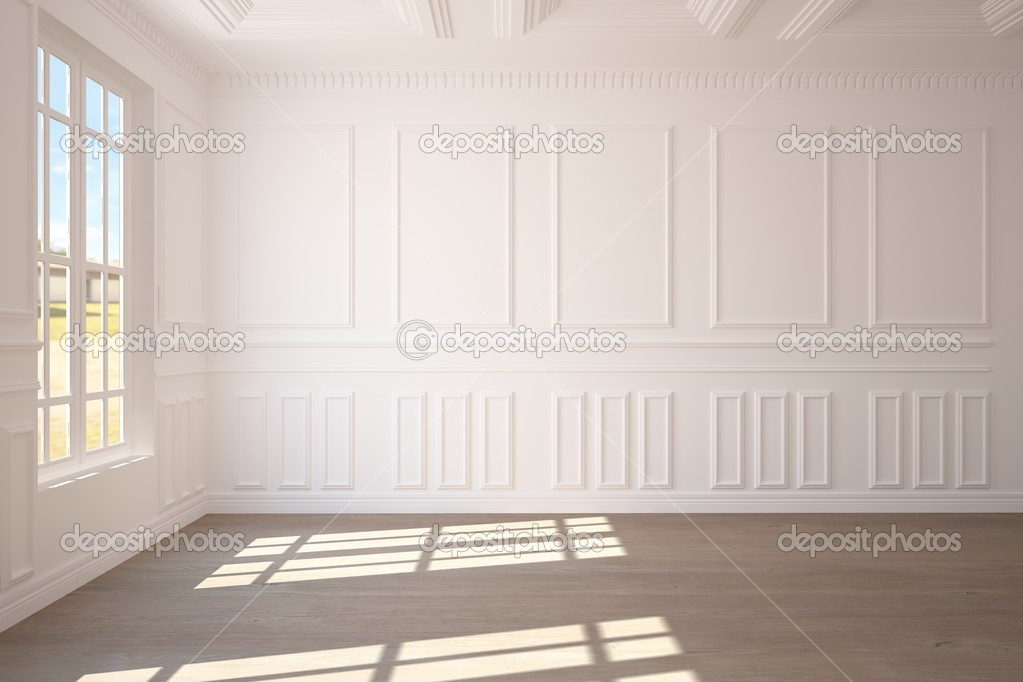 White empty room — Stock Photo #2521182