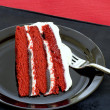 Red velvet cake — Stock Photo