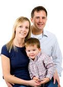 家庭 — 图库照片