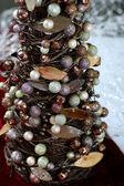 Modern Christmas Tree — Stock Photo