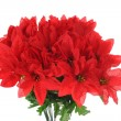 Bouquet of artificial red flowers — Foto de Stock
