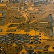 Brown circuit board — Stock Photo #2318935