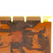 Stock Photo: Brown Circuit Board